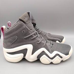 online store 35c8c a30f3 Adidas Crazy 8 ADV Sneakers Dark Grey womens NWOB